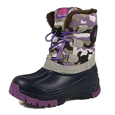 Amazon.com | Nova Mountain Little Kid's Winter Snow Boots