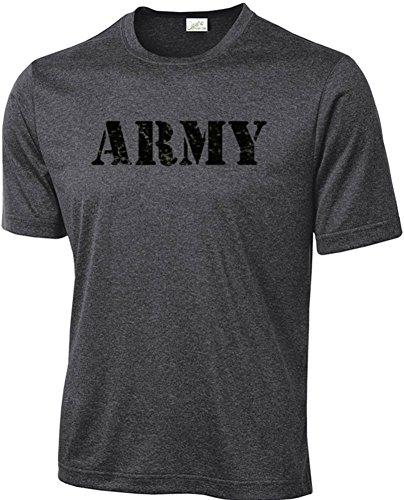 Joe's USA Vintage Army Logo Athletic Physical Training - Physical Training Logo Shirt