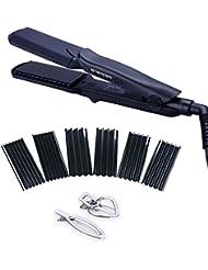 4 in 1 Hair Straightener Iron Set with Interchangeable...