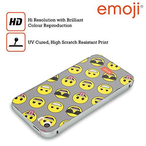 Officiel Emoji Smileys Appartement Argent Étui Coque Aluminium Bumper Slider pour Apple iPhone 6 Plus / 6s Plus
