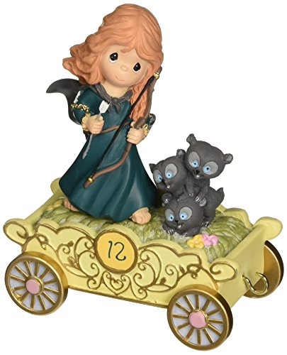 - Precious Moments, Disney Showcase Collection,  Fulfill Your Dreams, Disney Birthday Parade, Age 12, Resin Figurine, 133406