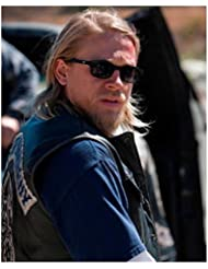Sons of Anarchy Charlie Hunnam as Jackson 'Jax' Teller Close Up Wearing Sunglasses SOA 8 x 10 Photo