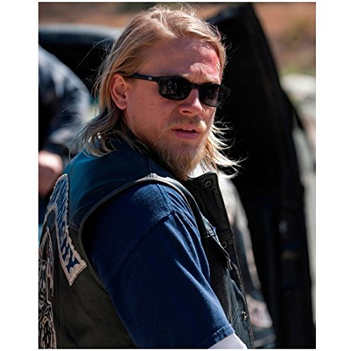 Sons of Anarchy Charlie Hunnam as Jackson 'Jax' Teller Close Up Wearing Sunglasses SOA 8 x 10 - Of Anarchy Sunglasses In Sons