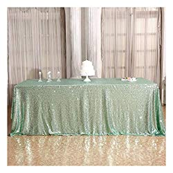 60×102'' Rectangle Sequin Tablecloth