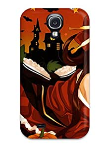 New Premium SarahTownsend Brunettes Dress Night Halloween Thigh Highs Anime Misaki Kurehito Pumpkins Skin Case Cover Excellent Fitted For Iphone 5c