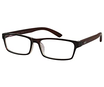 20a3ac179d Image Unavailable. Image not available for. Color  EyeBuyExpress Bifocal  Glasses Men Women Rx Reading Rectangular Full Frame Professional