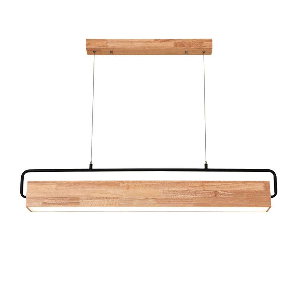 GG_L ペンダントライトノルディックシャンデリアウッドledフィクスチャモダンレストランリビングルームの寝室バーシーリングライトシンプル吊りランプ90センチ   B07TTB8HKK