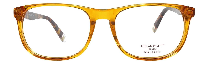 GANT RUGGER Eyeglasses GR 108 Transparent Orange 54MM