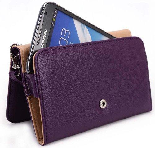 Short Wallet Case (Lavender) - 5