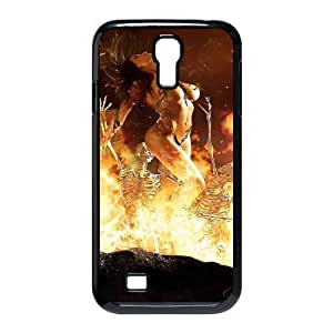 Samsung Galaxy S4 Case,Skull & Flame Hard Shell Case for Samsung Galaxy S4 Black Yearinspace071641