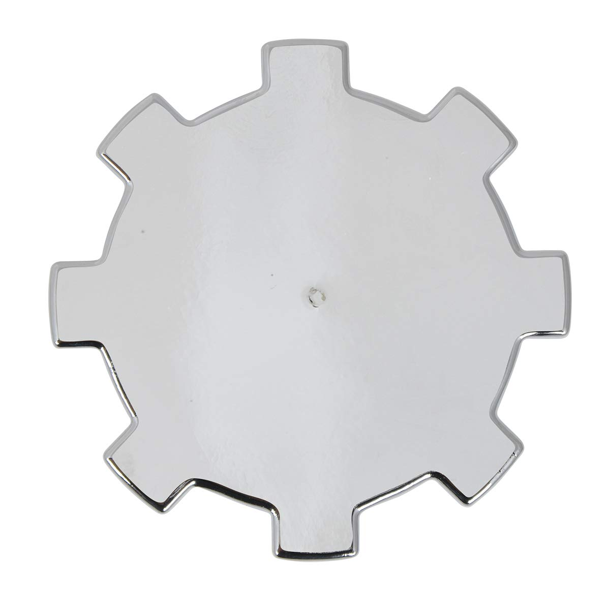 Trailers and More Grand General 10223SP Chrome Plastic 33mm Gear Screw-On Nut Cover for Trucks