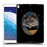 Official Star Trek Worf Cats TNG Soft Gel Case Compatible for iPad Air (2019)