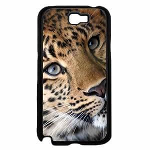 Beautiful Leopard Animal - TPU Rubber Silicone Phone Case Back Cover (Samsung Galaxy Note II 2 N7100)