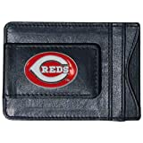 MLB Cincinnati Reds Leather Cash and Card Holder