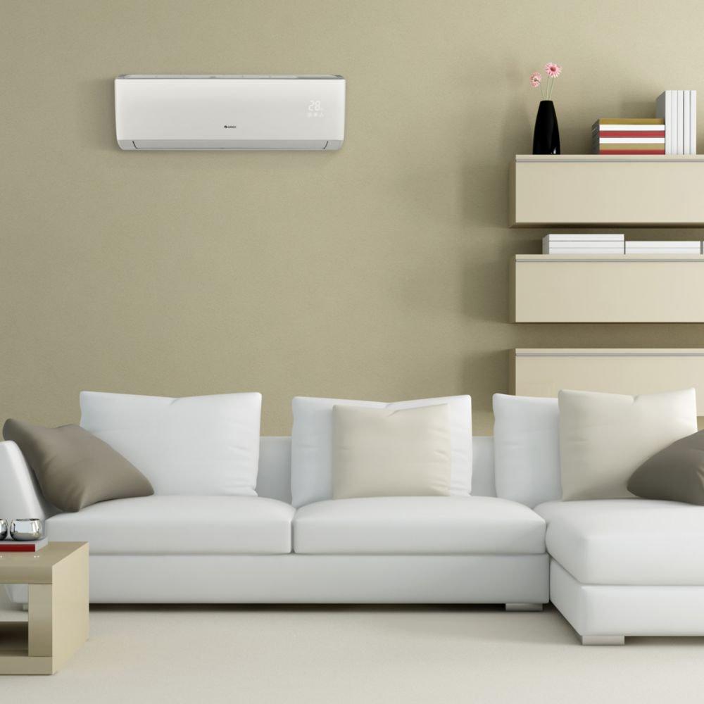 Gree VIR18HP230V1B Wall Mount Ductless Mini Split Air Conditioner Heat Pump 208-230V 18,000 BTU 20 SEER Vireo