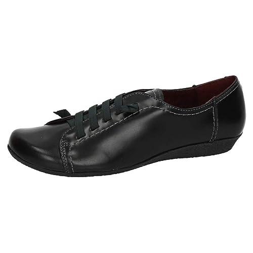 3b8d8295436 MADE IN SPAIN 454 Zapatos DE Piel Mujer Zapatos CORDÓN  Amazon.es  Zapatos  y complementos
