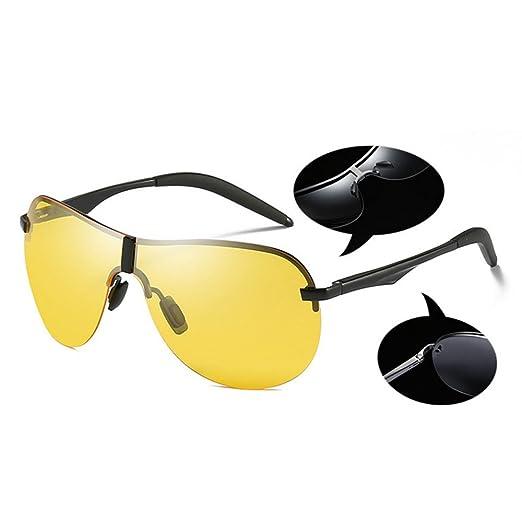 Frog Mirror Personality Shadow Trend Occhiali da sole polarizzati Uomini e  donne Occhiali da sole da spiaggia ( Color : Brown , Dimensione : One size  ): ...