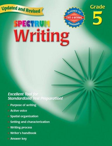 Halloween Art Ideas Grade 5 (Spectrum Writing, Grade 5)