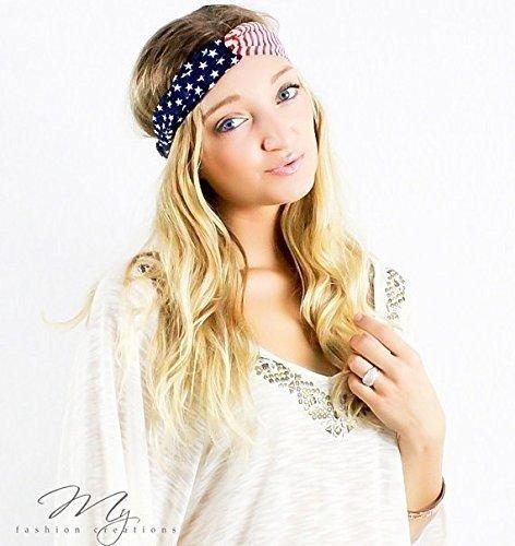 [해외]미국 국기 머리 띠, 미국 머리 띠, 미국 머리 띠, 미국 Turban, 미국 국기 머리 랩, 우리의 머리 띠, 7 월 4 일, 미국 월드컵/American Flag Headband, USA Headband, America Headband, USA Turban, American Flag Head Wrap, Us Headband, 4th of ...