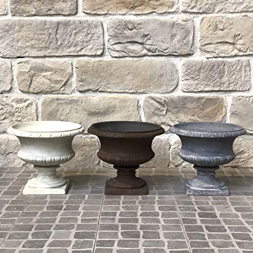 LORIGINALE DECO Coupe Vase Vasque Pot M/édicis Fibres de Ciment Gris /ø32cm