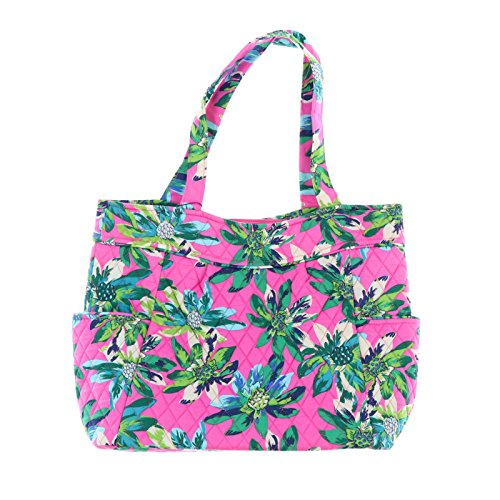 (Vera Bradley Pleated Tote (Tropical Paradise))