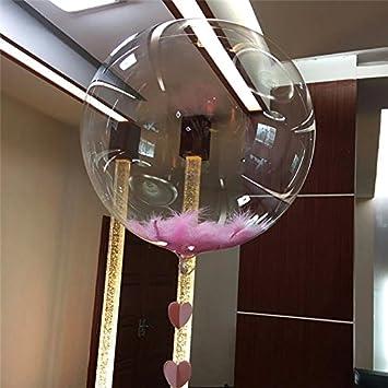 10 Stück 30cm Helium Bubble Ballons Klar Transparent Rund Hochzeit Baby Geschenk