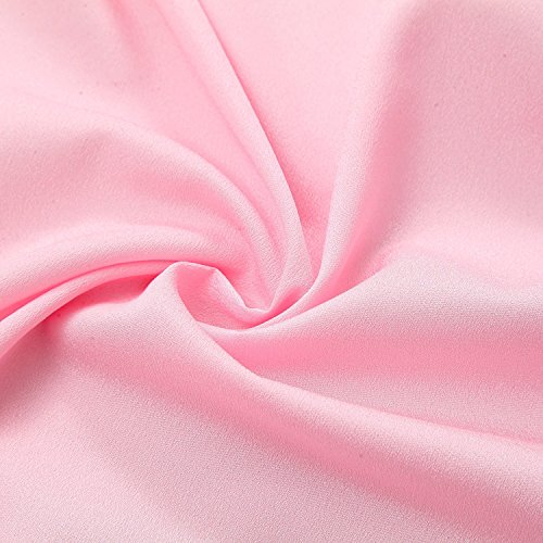 CHIGER Tulle Table Skirt High-end Gold Brim Mesh Fluffy 2 Yards Tutu Table Skirt For Party,Wedding,Birthday Party&Home Decoration (6FT X 0.8M, Pink) by CHIGER (Image #6)