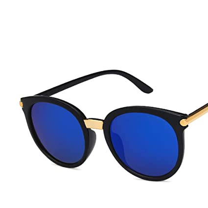 71377bed3a71 Fashion Round Sunglasses for Women Men, Haluoo Vintage Oversized Shades  Classic Trendy Stylish Cat Eye Eyeglasses UV 400 Protection Sun Glasses for  Outdoor ...