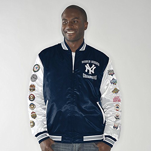 New York Yankees Up the Gut World Series Champs Commemorative Satin Jacket XXXXX-Large