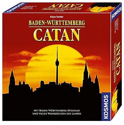 Amazon.com: Kosmos 693916 – Baden-Württemberg Catan: Toys ...