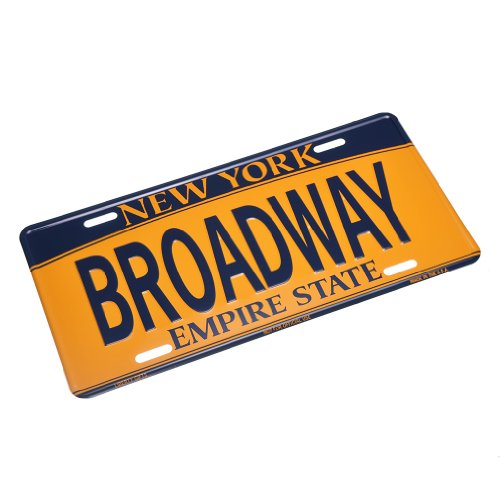 nyc license plate frame - 8