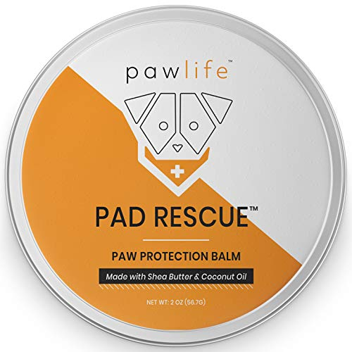 - pawlife Dog Paw Balm - Natural Pad Protection Wax for Dry Cracked Paws - Protective Care for Dogs During Winter and Snow - Healing Formula for Pads and Nose