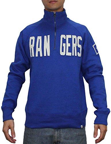 1/4 Zip Thermal Hooded Pullover - SPORTS SHACK USA TEX RANGERS Mens 1/4 Zip Pullover Thermal Sweatshirt XXL Blue