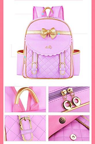 12 à QXMEI Sac 6 Pink 1 Grande Capacité Cartable Portable Grade 3 6 école Dos Primaire Fille Cartable Ans école zBr1zg7