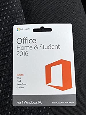 Microsoft Office Home and Student 2016 (1 PC)