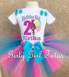Trolls Poppy Personalized Birthday Outfit Tutu Set
