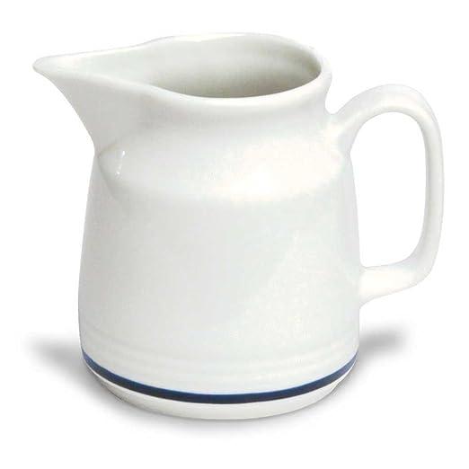 Tognana az032307420 lechera AZ Hilo, Porcelana, Color Blanco/Azul ...