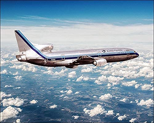 Amazon Com Eastern Air Lines Lockheed L 1011 Tristar Airliner 11x14 Silver Halide Photo Print Posters Prints