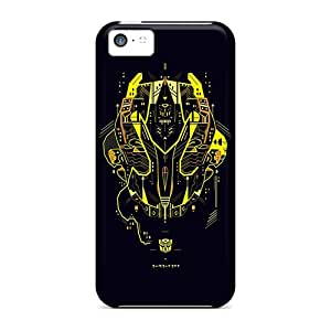 Perfect Hard Phone Cover For Iphone 5c (pwP2983zJJI) Provide Private Custom High Resolution Transformers Bumblebee Pictures
