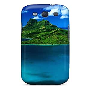 Fashionable JnDPmgz6731MqXtC Galaxy S3 Case Cover For Aerial View Of Bora Bora French Polynesia Protective Case
