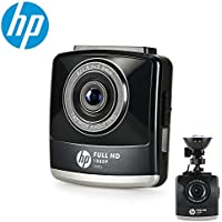HP Dash Cam Car DVR Vehicle Dashboard Camera Recorder with Full HD 1080P,2.4' LCD,G-Sensor, Night Vision, WDR, Parking Guard, Loop Recording,invisible
