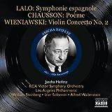 グレート・ヴァイオリニスト・シリーズ/ハイフェッツ ラロ:スペイン交響曲・ヴィエニャフスキ:ヴァイオリン協奏曲第2番 他