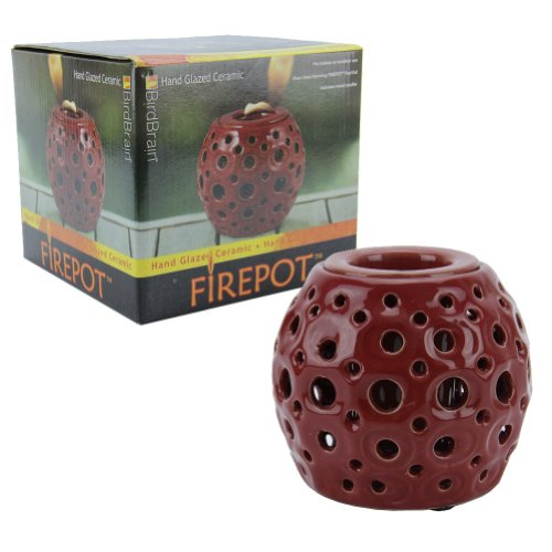 Brand New BridBrain Firepot Hand Glazed  - Bird Brain Ceramic Firepot Shopping Results
