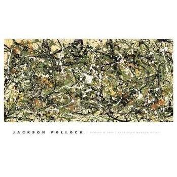 Number 8, 1949 Art Print Art Poster Print by Jackson Pollock