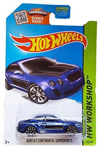 Hot Wheels, 2015 HW Workshop, Bentley Continential Supersports [Blue] 192/250