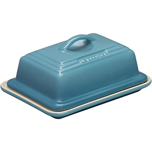Le Creuset Stoneware Butter Dish Teal