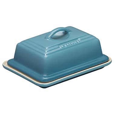 Le Creuset Heritage Stoneware Butter Dish, Caribbean