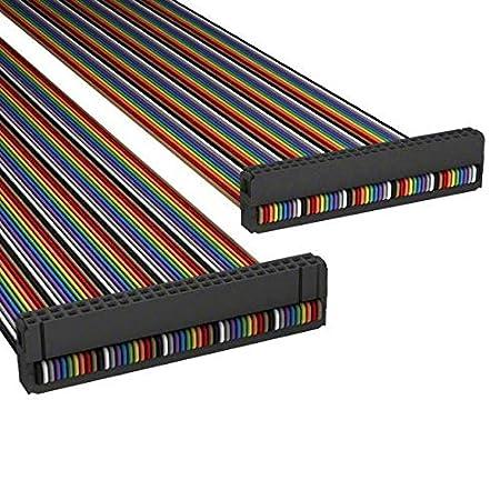 Pack of 10 ASR50H//AE50M//ASR50H A3BBH-5006M IDC CABLE