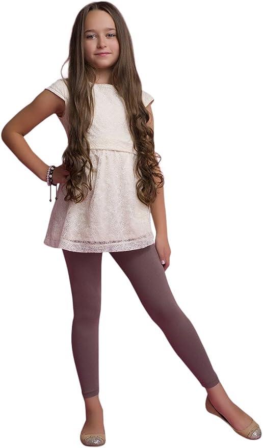 Ossa Girls Winter Thick Heavy Warm Cotton Full Ankle Length Leggings