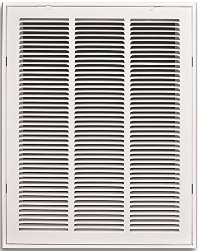 Truaire 190RF 14X20 Stamped Return Air Filter Grille, Removable Face, 14